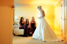 The bride is ready, so the bridesmaids are :) Wedding Photography by www.DominoArts.com