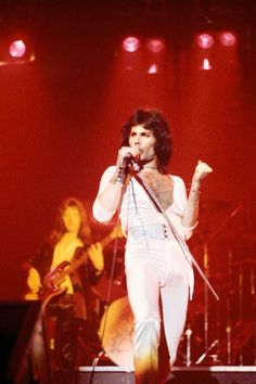 Photo of Freddie MERCURY and QUEEN; Freddie Mercury performing live on stage, Get premium, high resolution news photos at Getty Images Brian May, John Deacon, Queen Photos, Queen Pictures, We Are The Champions, Roger Taylor, Queen Freddie Mercury, Rami Malek Freddie Mercury, We Will Rock You