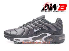 sale retailer fee0d 92628 Chaussures de Nike BasketBall Pas Cher Pour Homme Nike Air Max Plus Nike TN  Requin Prix 2017 Cool Grey