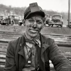 Coal miner with style! Outward migration has been the trend here for the last several decades. Folks leave in search of work, in search of a college education, in search of a healthier homeplace.