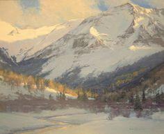 M.W. Skip Whitcomb | Lake Creek Willows, Simpson Gallagher Gallery, Fine Art, Cody Wyoming, Yellowstone