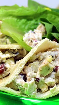 Inspired By eRecipeCards: Creamy Chicken Salad (Cream Cheese Creamy) - 52 Uses for a Rotisserie Chicken