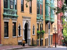Beautiful Beacon Hill in historic downtown Boston. Also, home to the place 'where everybody knows your name.'