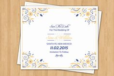 Printable Save The Date Template  Wedding by WeddingTemplateStock
