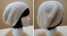 Make this fun Hadley crocheted slouch hat a staple of your autumn and winter wardrobe. This is a quick and easy crocheted hat suitable for beginners.
