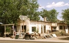 """"""" San Fidel Café """" in San Fidel New Mexico   """" Route 66 on My Mind """" http://route66jp.info Route 66 blog ; http://2441.blog54.fc2.com https://www.facebook.com/groups/529713950495809/"""