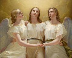 «Три ангела» — молитва-оберег неурядиц и бед |
