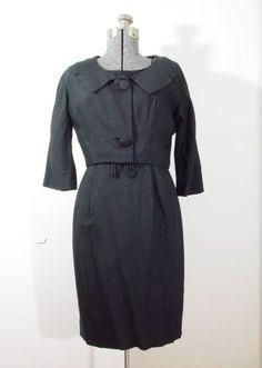 Vintage Topaz Dress Jacket Set