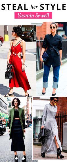 Essa musa de estilo tem inspiração de sobra !