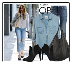 """""""SHOP - OPAL"""" by ladymargaret ❤ liked on Polyvore featuring moda, Current/Elliott, Level 99 y J.J. Winters"""