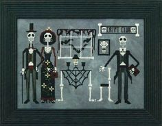 The Crypt Club. Cross Stitch Pattern. By Prairie Moon. $12.59
