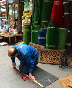 The carpet shop. Market, Istanbul.