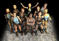 Lara Croft is the titular character of the Tomb Raider Franchise. Through out the years, Lara. Tomb Raider Lara Croft, Tomb Raider Game, Life Is Strange, Dark Souls, Lara Croft Angelina, Geeks, Evolution Of Video Games, Laura Croft, Far Cry 4