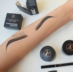 People can draw eyebrows better on their arms than I can on my actual eyebrows
