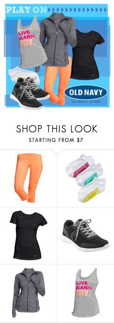 """Play ON With Active by Old Navy"" by oldnavy ❤ liked on Polyvore featuring Old Navy"