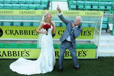 Gail & Chris Easter Road Stadium Leith, Wedding Photography from Mark Cameron Photography Build A Blog, Prom Dresses, Formal Dresses, Free Website, Wedding Venues, Wedding Photography, Easter, Fashion, Dresses For Formal