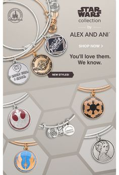 Disney's Star Wars collection by Alex and Ani