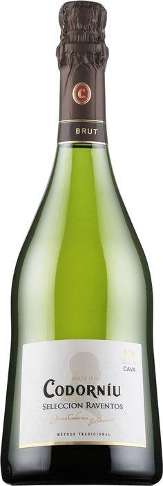 """""""Selección Raventos"""" Chardonnay 50% / Xarel-lo 25% / Macabeo 25% NV Cava Brut - Bodega Codorniú, San Sadurní de Noya, Cataluña, España ---------------- Terroir: D.O. Cava - Cataluña, España ------------------ Método champenoise"""