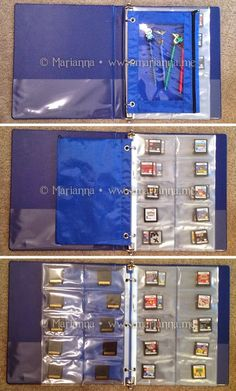 DIY Nintendo DS / 3DS Game Card Storage