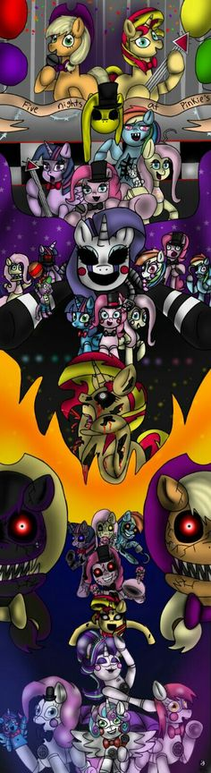 Fnap five nights at Pinkie's, 1-5