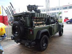 Jeep J8 Chrysler JGMS light patrol vehicle