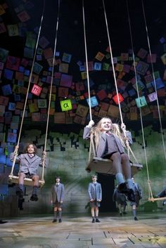 Can you imagine?  ToDo: Go to Work. Swing. Go Home! Matilda: The Musical, Royal Shakespeare Company