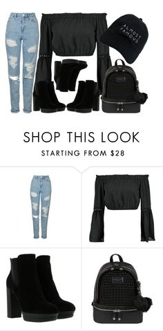 """""""Untitled #2460"""" by claudcsilva ❤ liked on Polyvore featuring Topshop, Boohoo, Hogan, Andrew Marc and Nasaseasons"""
