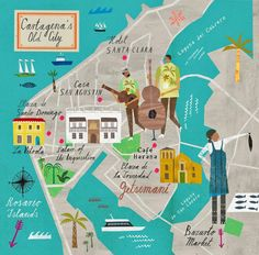 Dreaming of Cartagena: by MARTIN HAAKE