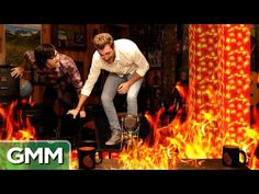 The Floor Is Lava (Game) - Good Mythical Morning