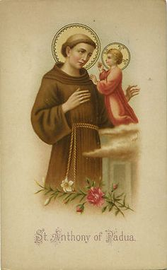 St. Anthony of Padua, pray that we be open to the Holy Spirit's call whenever or wherever it comes. #SaintOfTheDay