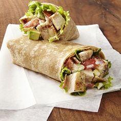 Chicken Club Wraps - EatingWell.com