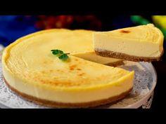 Cheesecake New York - fascinující dezert, za který by se nemuseli stydět. New York, Biscuits, Cheesecakes, Cornbread, Camembert Cheese, Cantaloupe, Cake Recipes, Pudding, Fruit