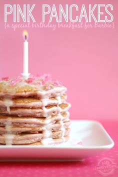 Make Pink Pancakes in Honor of Barbie's Birthday! - Kids Activities Blog