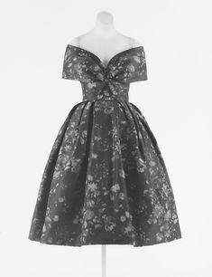 Cocktail dress. 1959. House of Dior (Yves Saint Laurent).