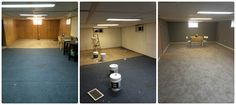 Basement Reno in a weekend, quick and easy fix for a disaster rec room Basement, Conference Room, Hands, Crafty, Easy, Table, Furniture, Home Decor, Root Cellar