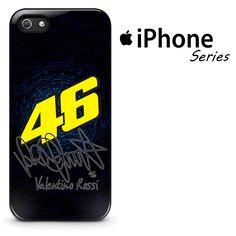 Valentino Rossi 46 Signature Blue Light Phone Case | Apple iPhone 4/4s 5/5s 5c 6 6 Plus Samsung Galaxy S3 S4 S5 S6 S6 Edge Samsung Galaxy Note 3 4 5 Hard Case  #AppleiPhoneCase #SamsungGalaxyCase #SamsungGalaxyNoteCase #ValentinoRossi #Yuicase.com