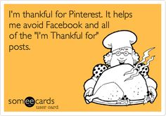 Yep. I'm this person because I believe you should be thankful all year long and not just during November.