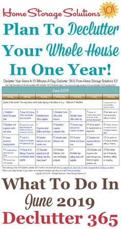 January 2016 decluttering calendar with daily 15 minute missions - Home Storage Solutions 101 Organisation Hacks, Storage Organization, Organizing Ideas, Organising Hacks, Organizing Clutter, Organizing Papers, Daily Organization, Kitchen Organisation, Calendar Organization