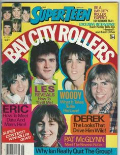 Super Teen Magazine May 1877 Bay City Rollers