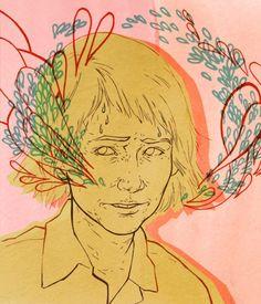 Rookie Mag Illustrations - Allegra Lockstadt