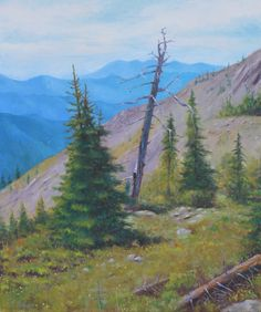 Climbing the ski hill in Fernie, BC. it has its challenges. But after you overcome those you feel at peace. My wife and I were resting and Ski Hill, Website Images, Paintings I Love, Impressionist, Fly Fishing, All Art, Oil On Canvas, Art Projects, Original Art