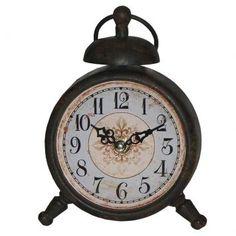 Relógio de mesa ferrugem oldway - Westwing.com.br - Tudo para uma casa com estilo