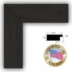 Amazon.com - 12x18 / 12 x 18 Expresso Walnut Picture Frame - NEW .. 2'' wide - Single Frames