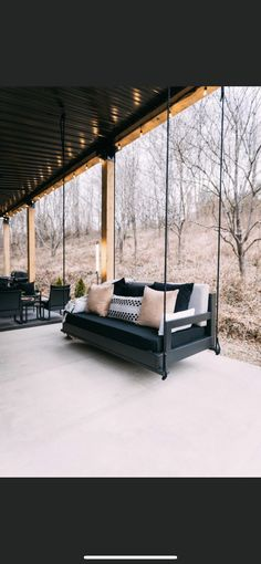 Deck Design, Outdoor Furniture, Outdoor Decor, Bed, Modern, Home Decor, Outdoors, Cover Design, Trendy Tree