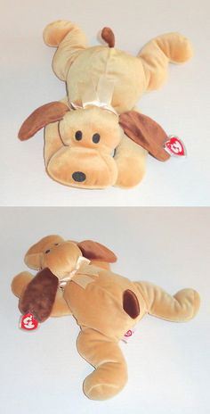f90c42460ee Pillow Pals 1633  New Ty Pillow Pals Woof Plush Tan Brown Dog Puppy Pal  1994 Mint P24 -  BUY IT NOW ONLY   15.95 on  eBay  pillow  plush  brown   puppy