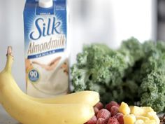 Making smoothies at home just got easier with this simple formula: Non-Dairy @lovemysilk Milk Base + Frozen Banana + Leafy Greens + Fruit + Superfood. Press play to learn more!