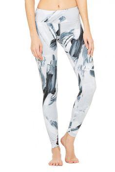 Airbrush Legging - Print | Women's Yoga Bottoms at ALO Yoga