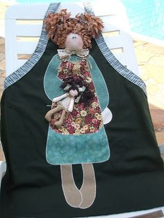 Avental de boneca!