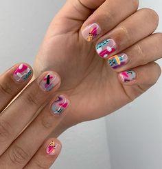 Shellac Nails, Pink Nails, Acrylic Nails, Gel Nail Art, Acrylic Nail Designs, Nail Art Designs, Cute Nails, Pretty Nails, Wedding Nail Polish