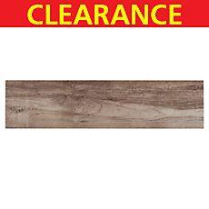 Clearance Bali Exotic Wood Plank Porcelain Tile